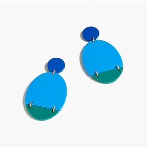 J.crew Lucite Statement earring